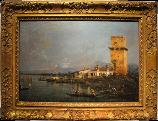 Canaletto, Torre di Marghera, 1756
